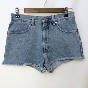 😎 Vintage 90s J.Crew High Waisted Jean Shorts!